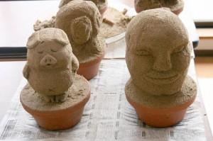 ミニ砂像(HP2)