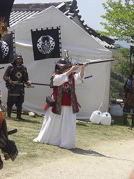 備州岡山城鉄砲隊4